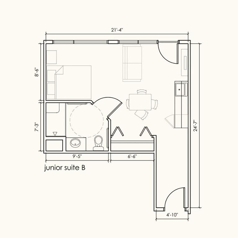 Junior suite B