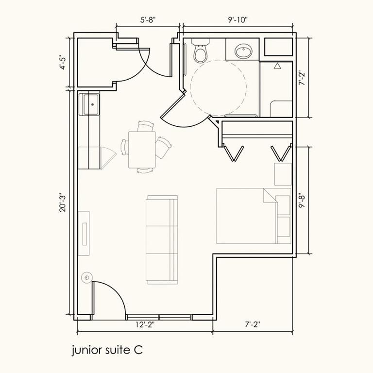 Junior suite C